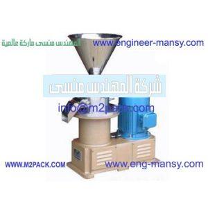 ماكينة تصنيع زبدة الفول السوداني واللوز